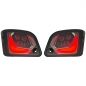 Preview: LED-Blinker-Set SIP hinten - Vespa GTS/GTS Super/GTV 125-300ccm (ab Bj. 2014) - getönt mit Positionsleuchten