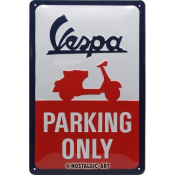 Vespa - Parking only