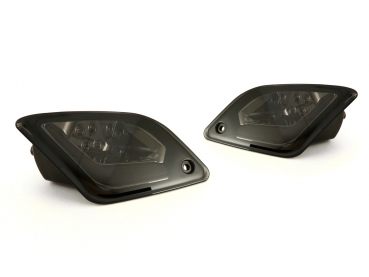 LED-Blinker-Set hinten - HD CORSE - Vespa GTS 125-300 ccm, HPE (ab Bj. 2019) - smoked